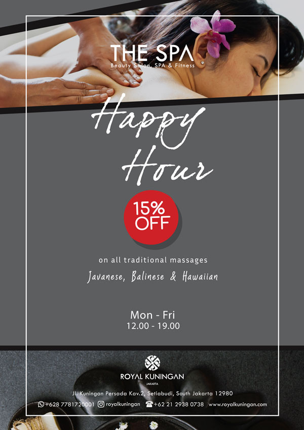 15% OFF On All Traditional Massages - Royal Kuningan Hotel